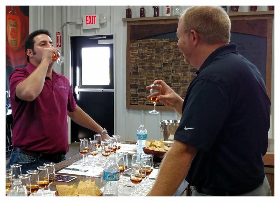Jonathan Maisano tasting Bourbon