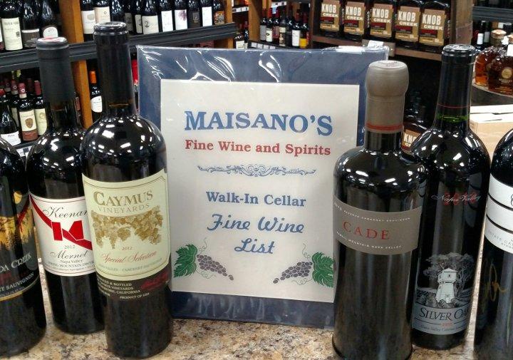 Maisano's Wine List