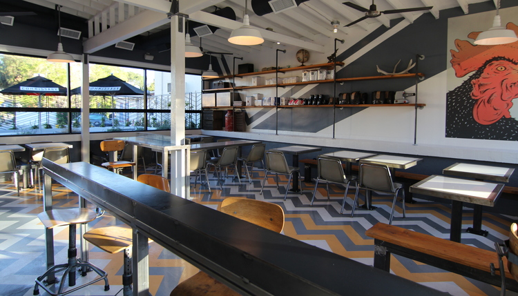 Interior View of Burbank location