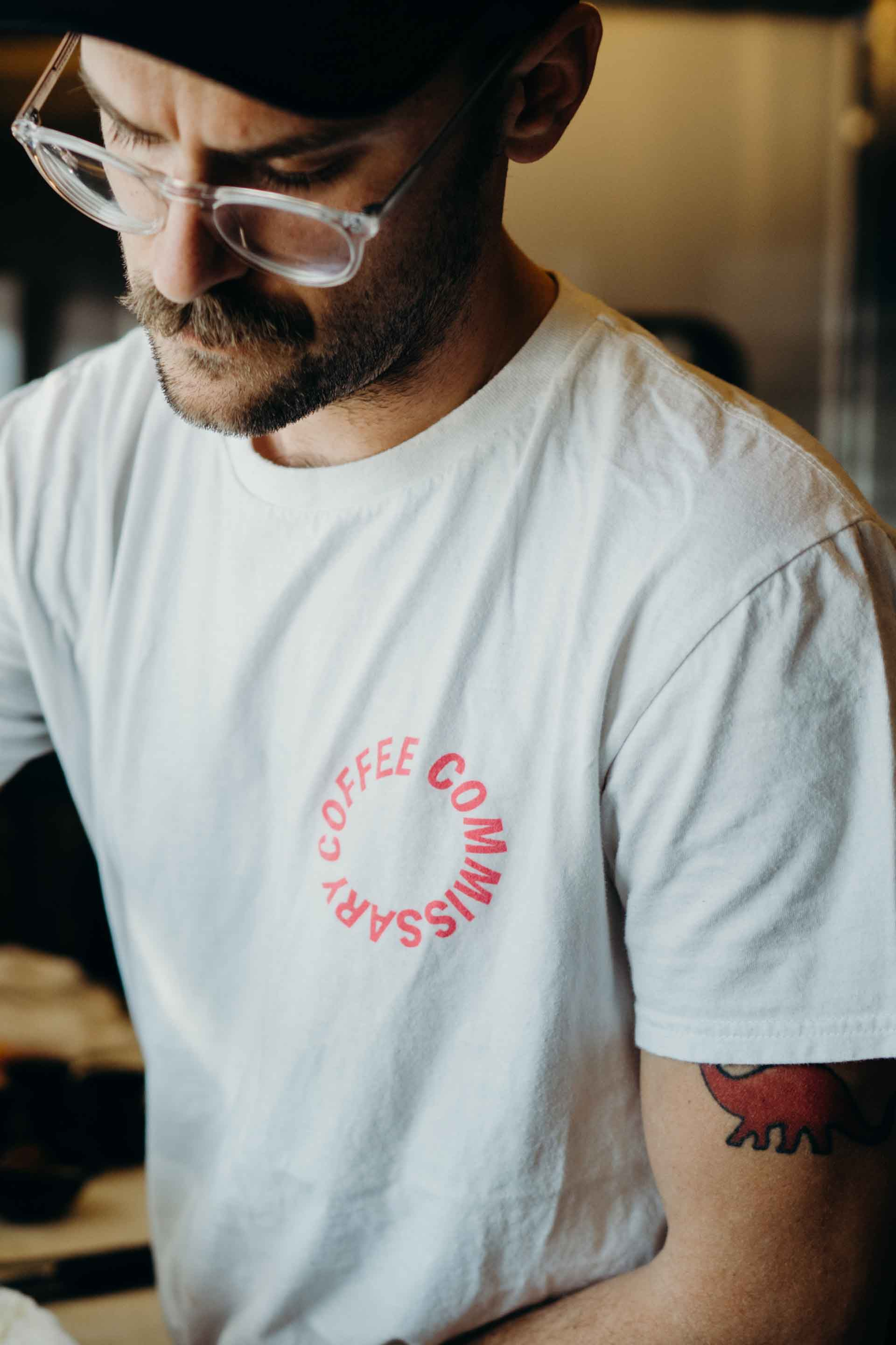 Coffee Commissary t-shirts