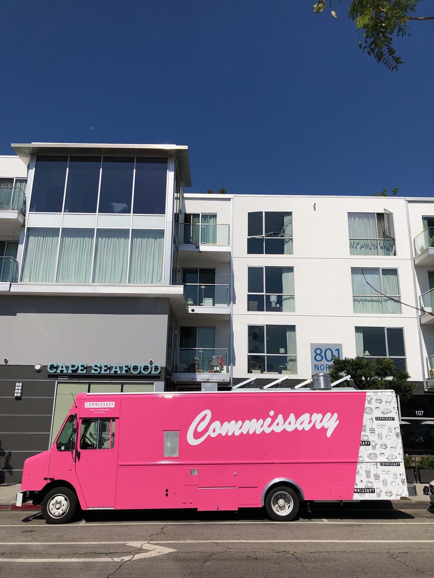 Coffee Commissary food truck