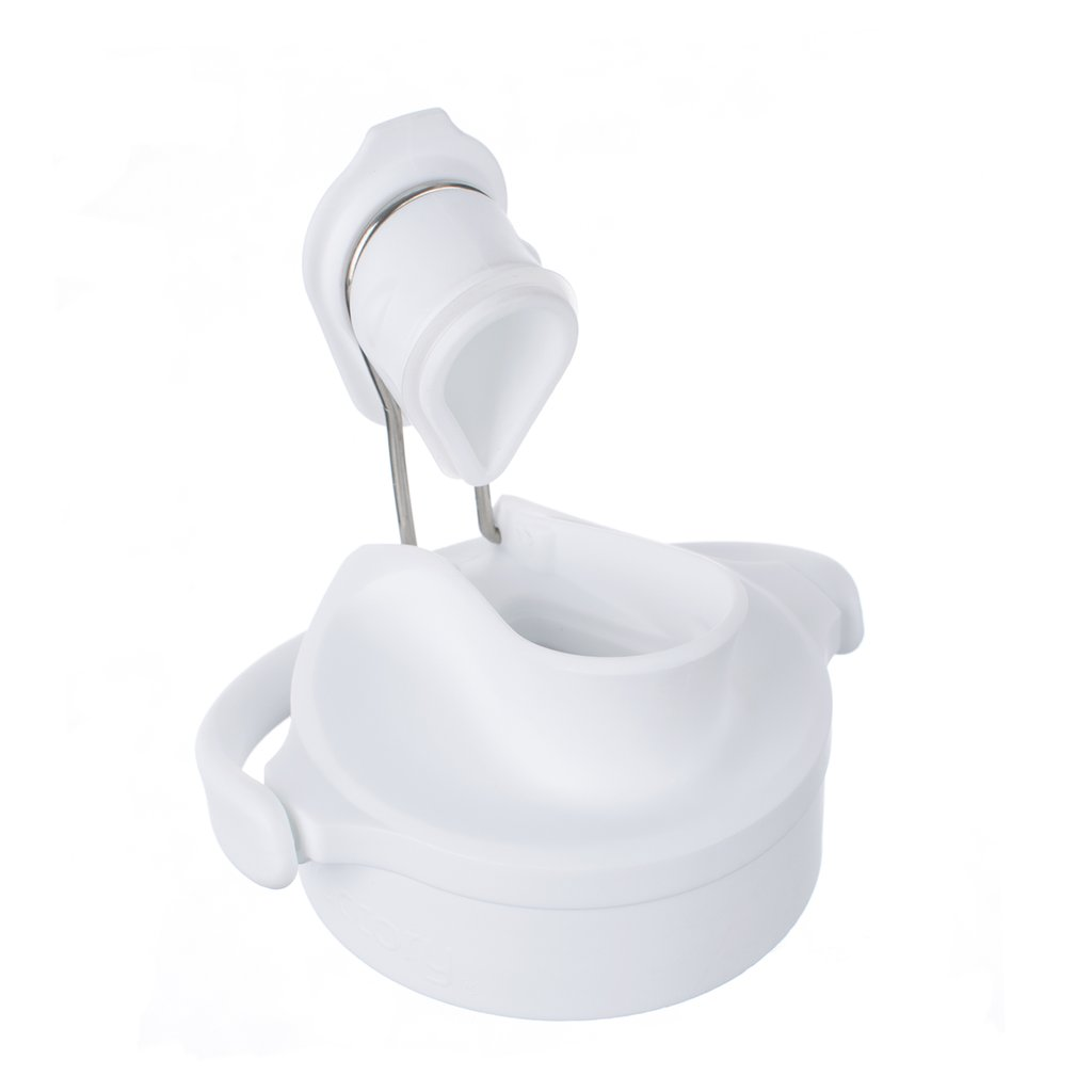 Active Cap for 12, 16 and 22 oz Bottles - Optic White