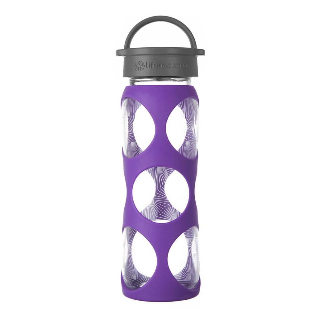 22oz Glass Bottle with Classic Cap and Silicone Sleeve - Concord Ion