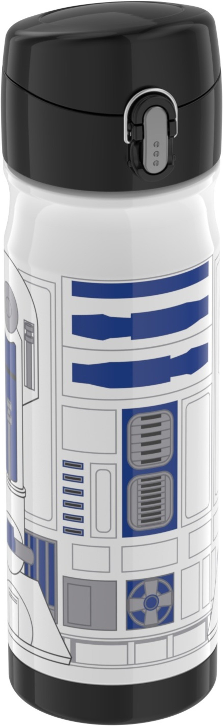 STAINLESS STEEL DIRECT DRINK BOTTLE 16OZ STAR WARS - R2D2