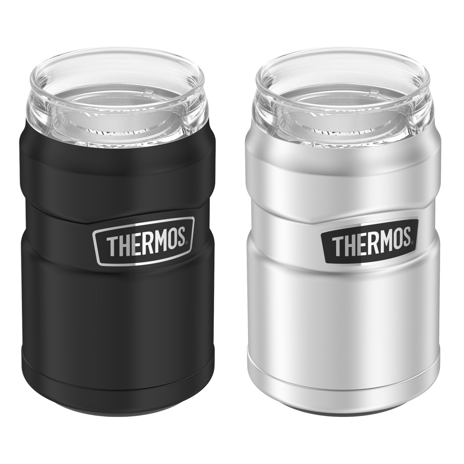 STAINLESS KING™ STAINLESS STEEL CAN INSULATOR 12OZ PAIR