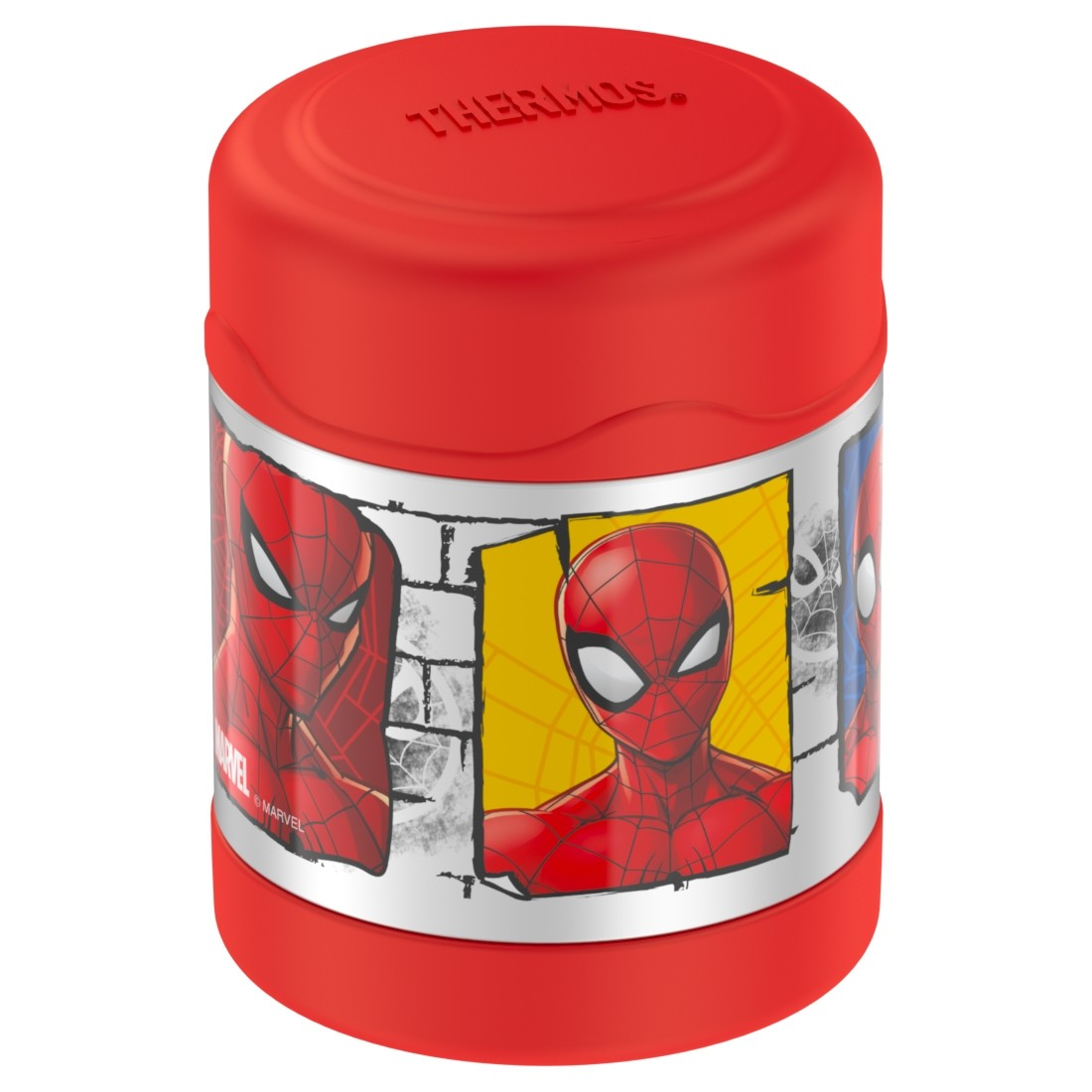 FUNTAINER® STAINLESS STEEL FOOD JAR SPIDER-MAN
