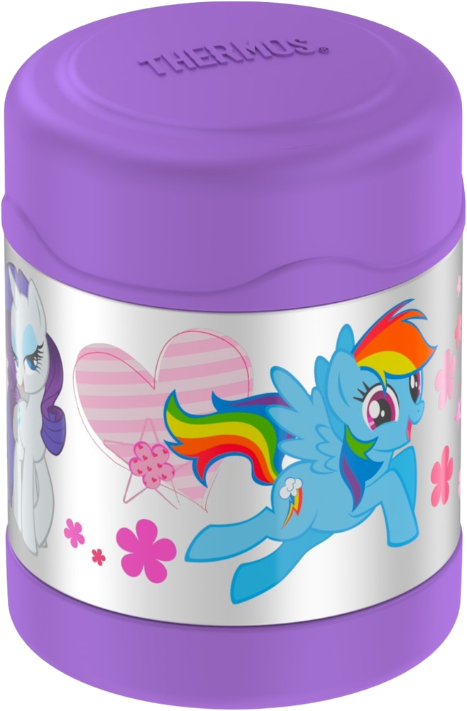 FUNTAINER® STAINLESS STEEL FOOD JAR MY LITTLE PONY