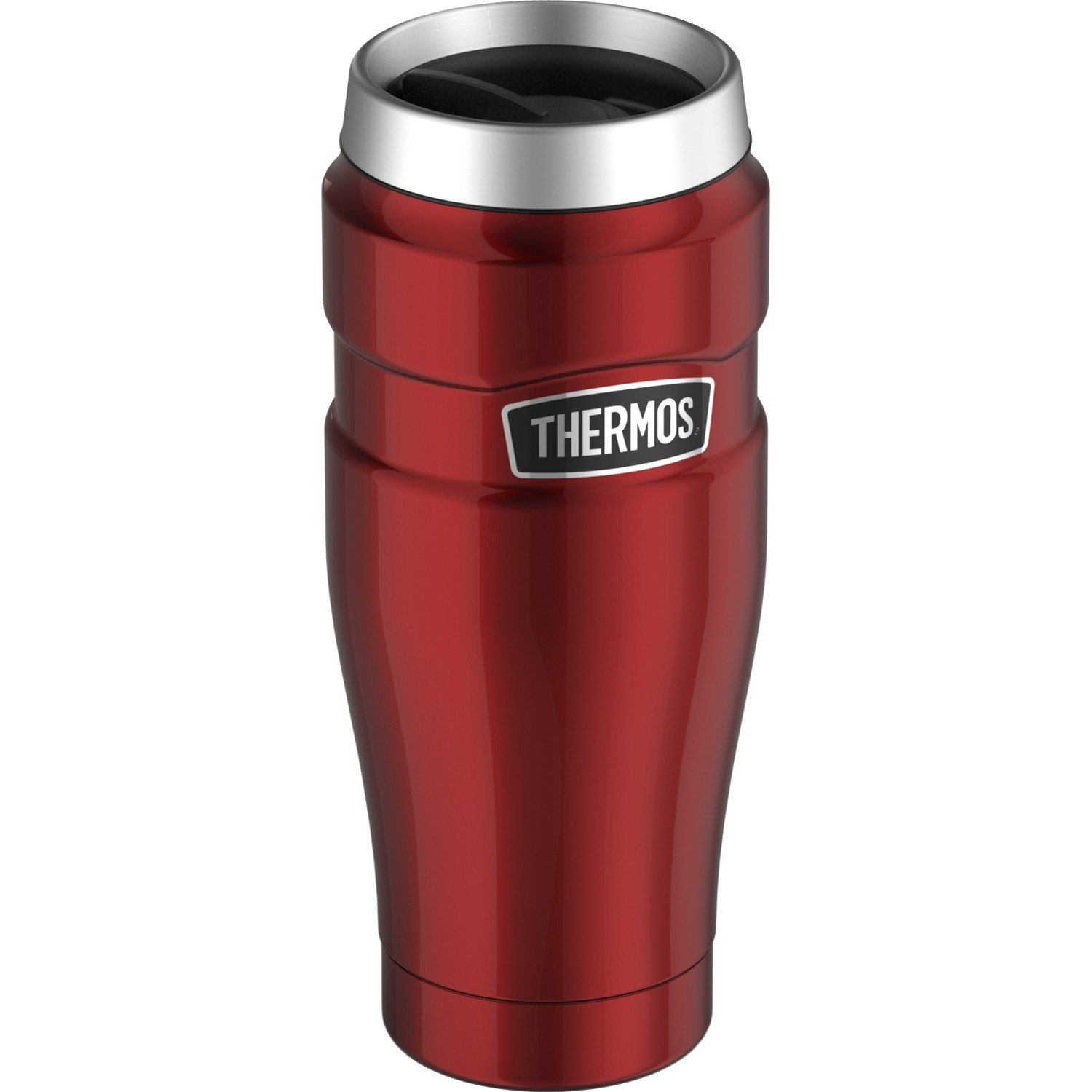 STAINLESS KING™ STAINLESS STEEL TRAVEL TUMBLER 16OZ