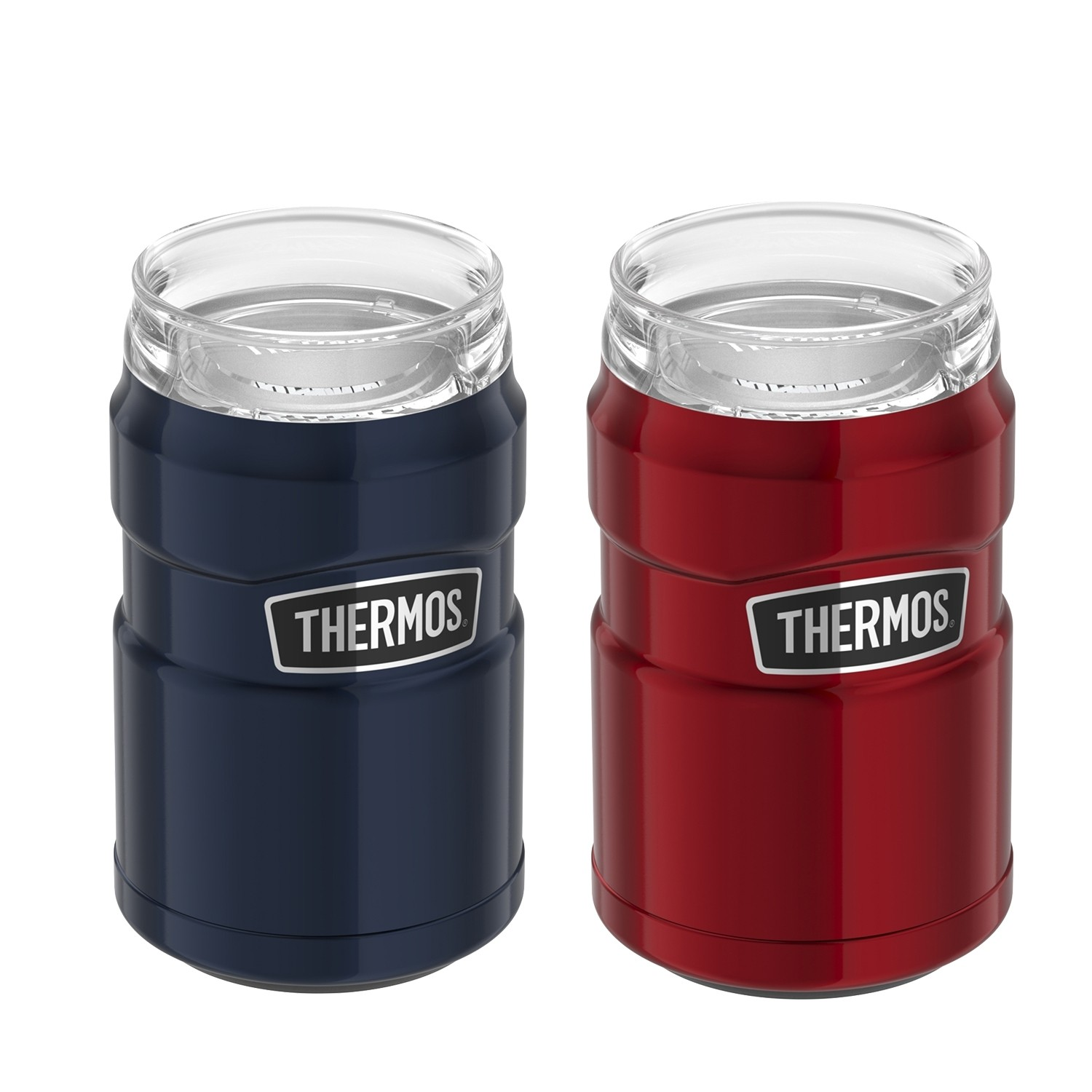 STAINLESS KING VACUUM INSULATED STAINLESS STEEL CAN INSULATOR 12OZ PAIR