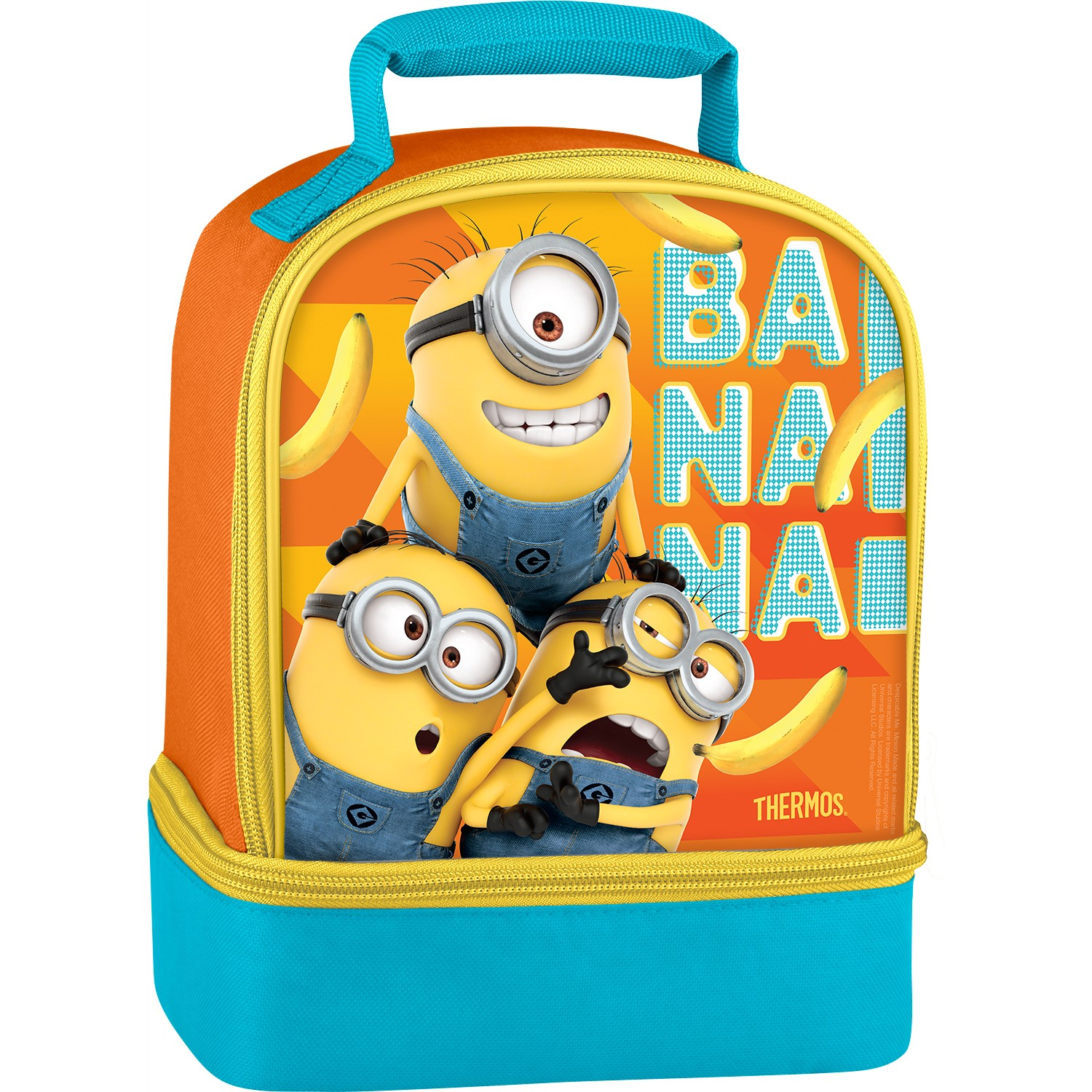 DUAL COMPARTMENT LUNCH BOX DESPICABLE ME 3