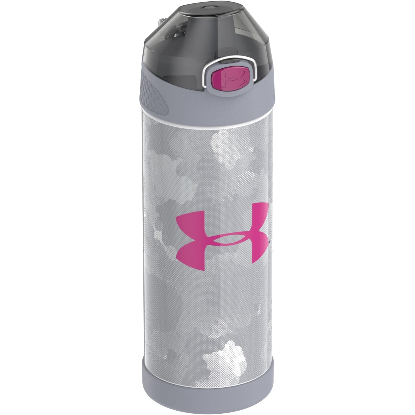 UA PROTEGE 16OZ STAINLESS STEEL WATER BOTTLE ALPHA FAUX MESH