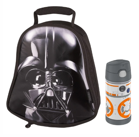 NOVELTY LUNCH BOX WITH FUNTAINER® BOTTLE 12 OZ, STAR WARS