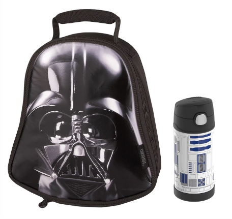 DUAL LUNCH BOX WITH FUNTAINER® BOTTLE 12 OZ, STAR WARS