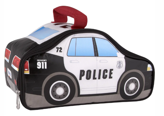 NOVELTY LUNCH BOX POLICE CAR