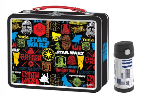 LUNCH BOX METAL KIT WITH FUNTAINER® BOTTLE 12 OZ, STAR WARS