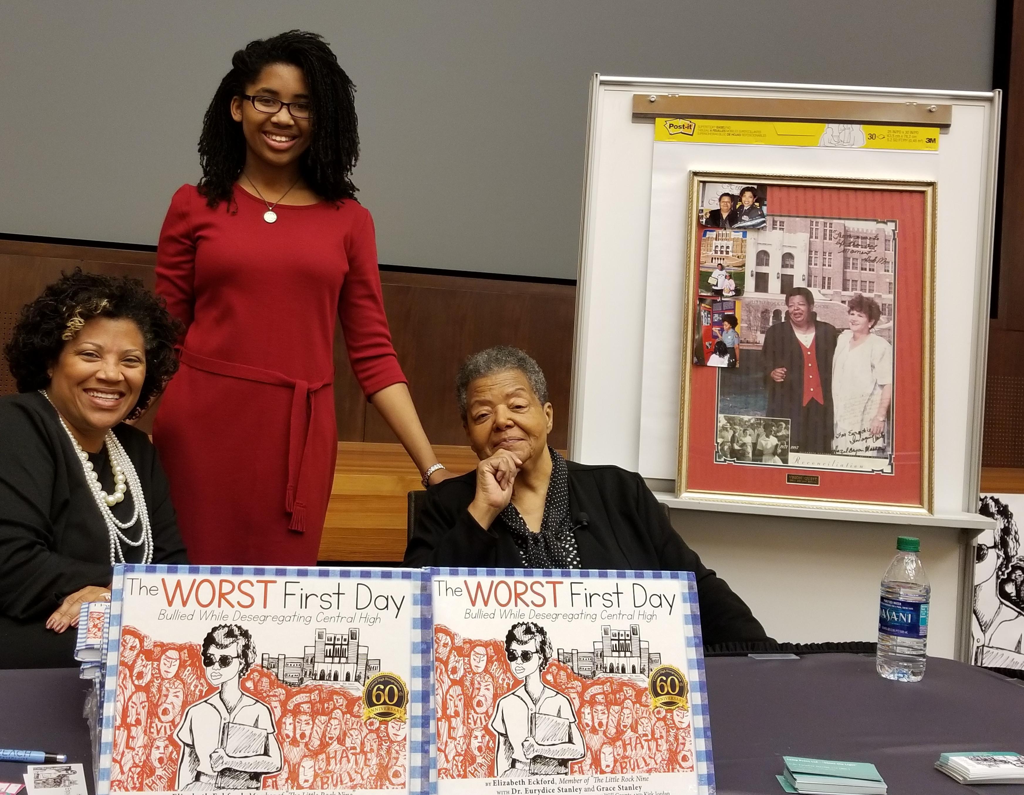 Dr. Eurydice Stanley, Grace Stanley, and Elizabeth Eckford