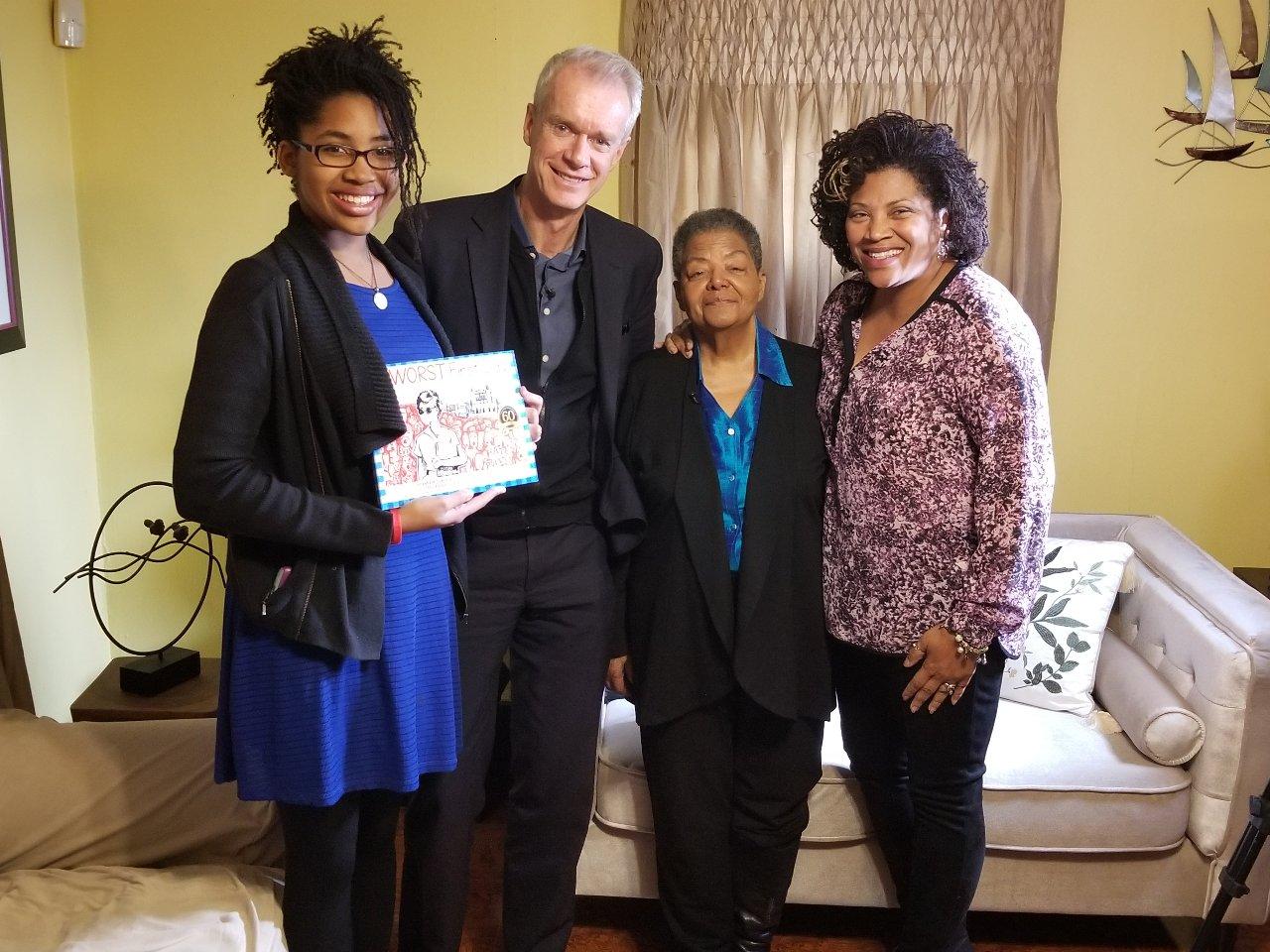 Elizabeth Eckford, Eurydice Stanley, and Grace Stanley