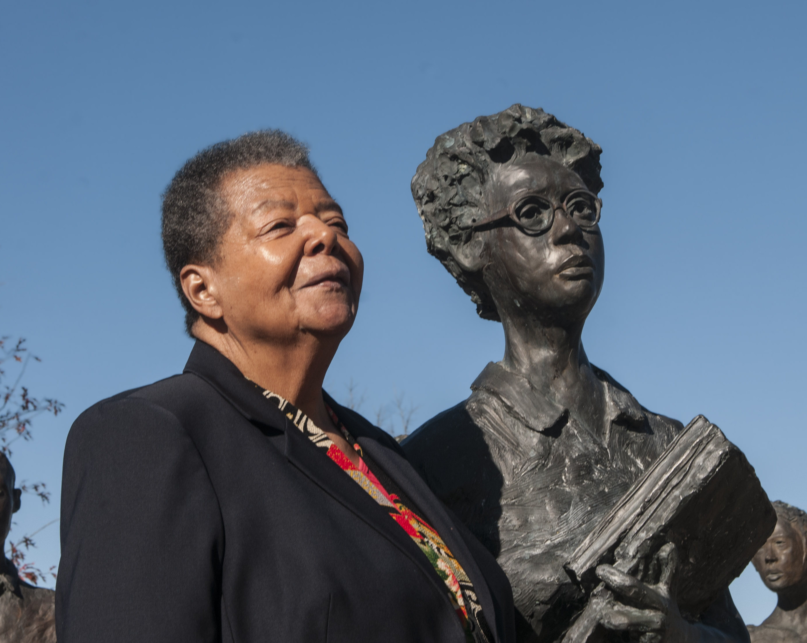 Elizabeth Eckford Fighting Against Segregation Decades Later