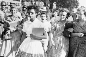 Little Rock Nine student Elizabeth Eckford