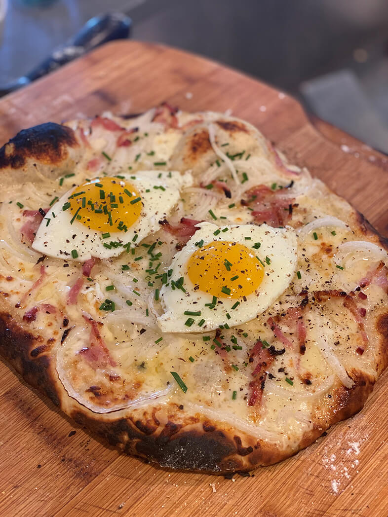Alsatian Breakfast Pizzamana