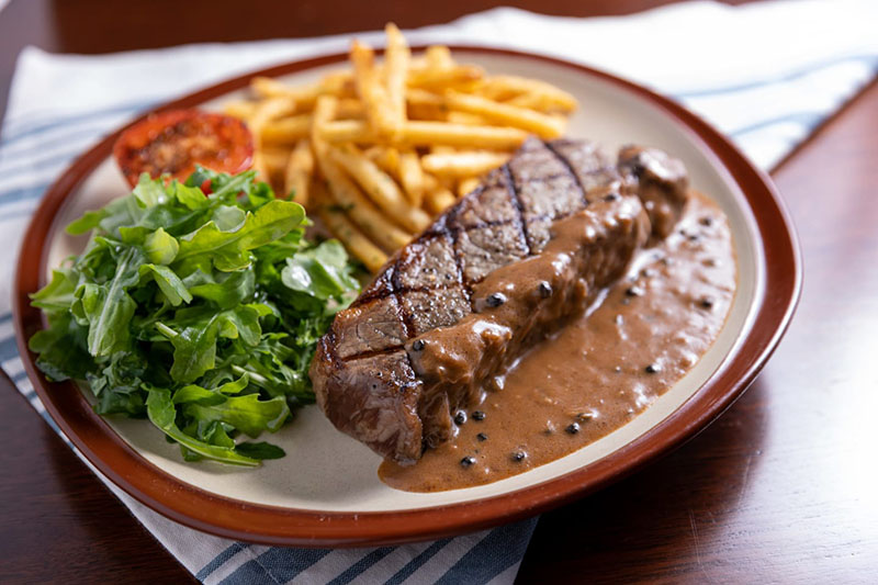 Tavern House's Steak Frites.