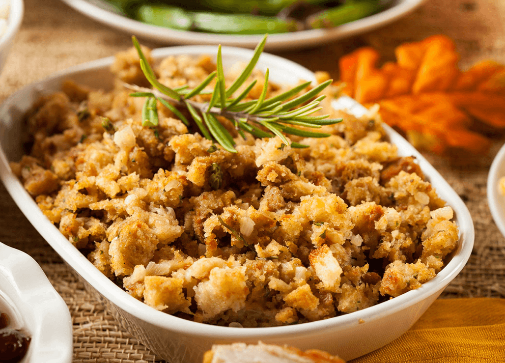 David's favorite Turkey Stuffing recipe.