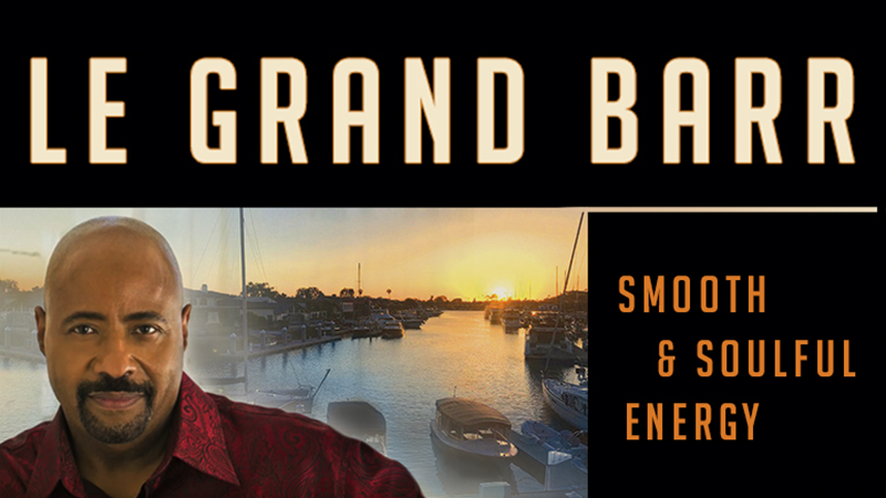 Le Grand Barr performing Sundays and Thursdays at Tavern House