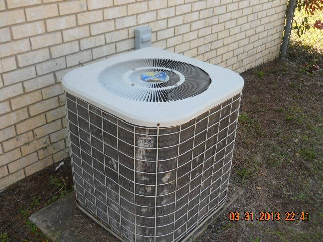 HVAC outdoor unit