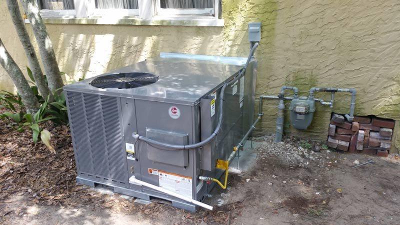 External HVAC system