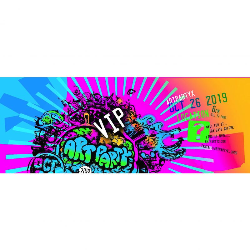 VIP Pass to ArtPartyX4AHERO