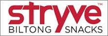 stryve biltong snacks logo