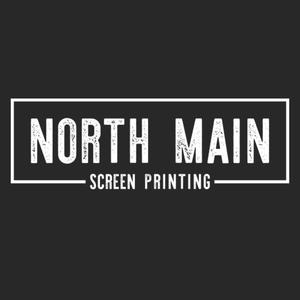 North Main Screen Printing logo