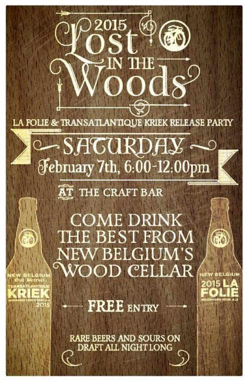 New Belgium Lost in the Woods Release Event