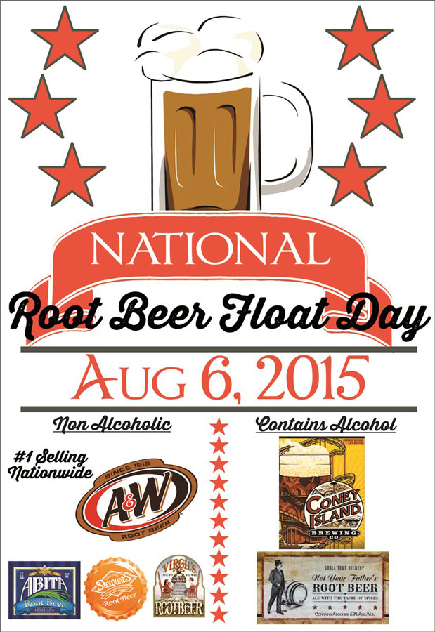 National Root Beer Float Day!