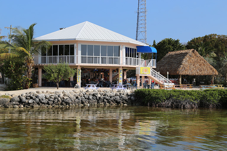 Bayside Grille – View from Bay