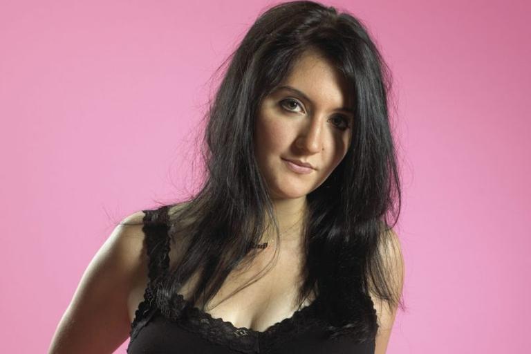 Gina Sicilia posing