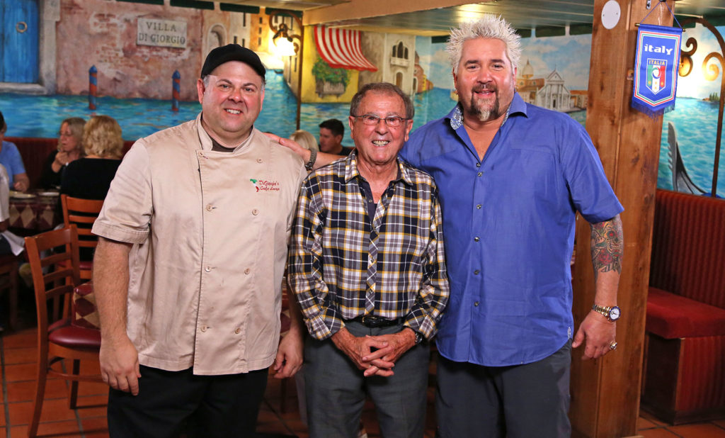Guy Fieri and Bayside Grille Owners