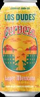 Los Dudes Cerveza can