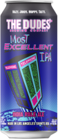 The Dudes Most Excellent IPA can