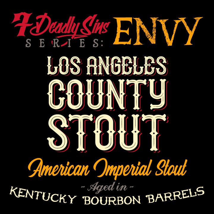 The Dudes LA County Stout can