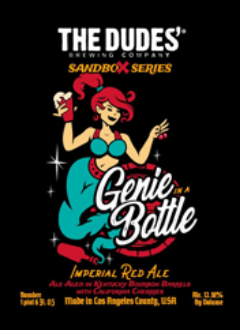 The Dudes Genie Bottle logo