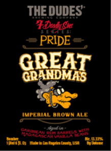 The Dudes Great Grandmas IPA logo