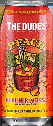 The Dudes Peach can