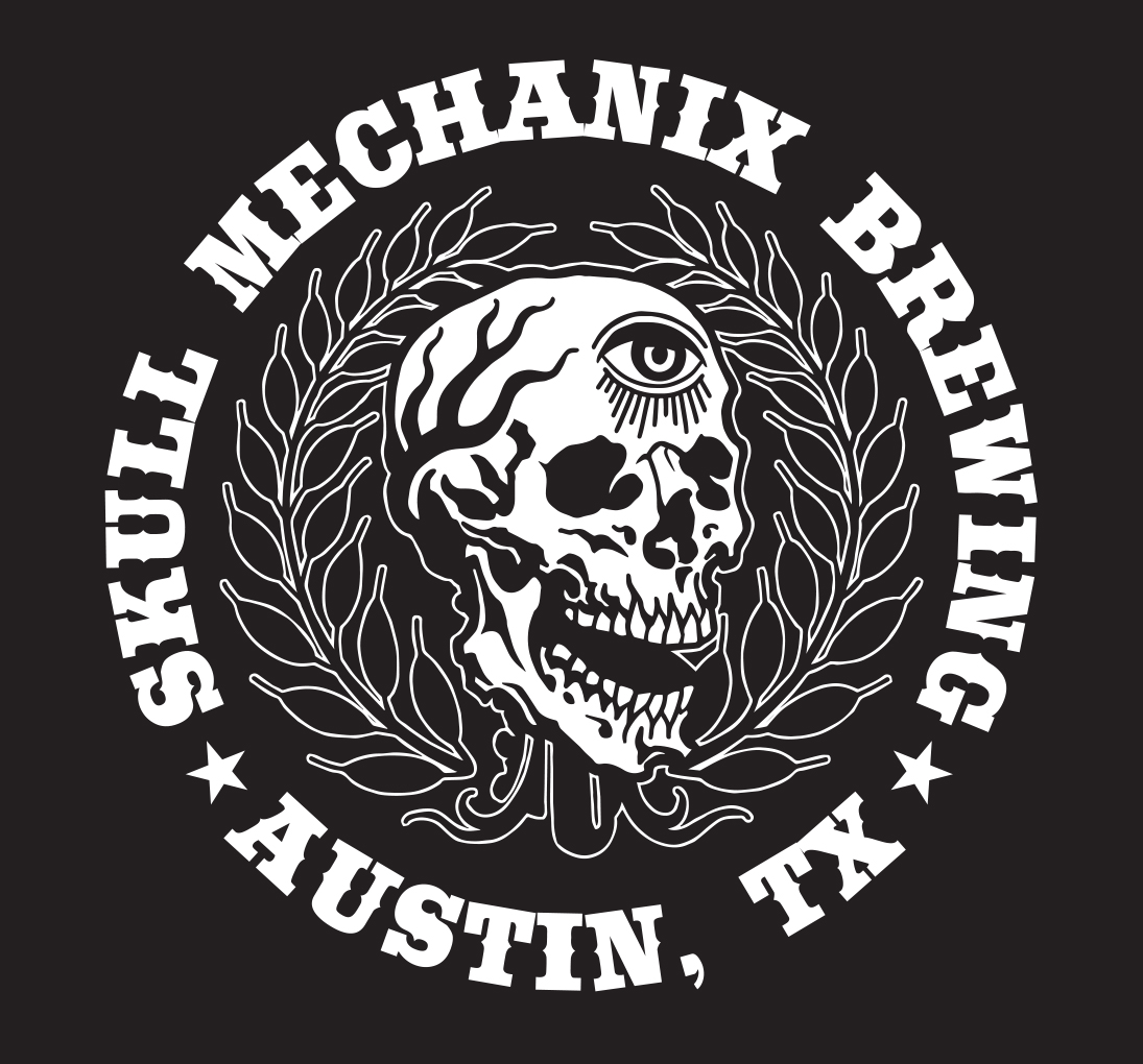 Skull Mechanix Brewing logo