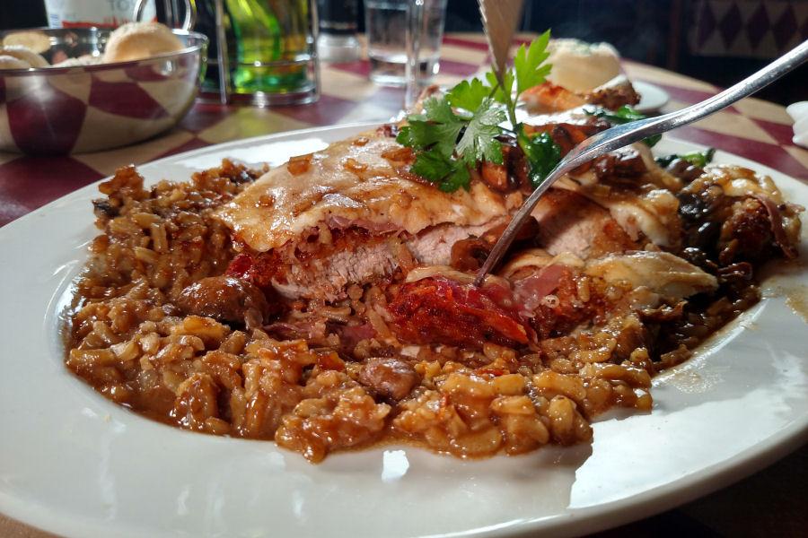 Veal Chop Cutlet Florentine