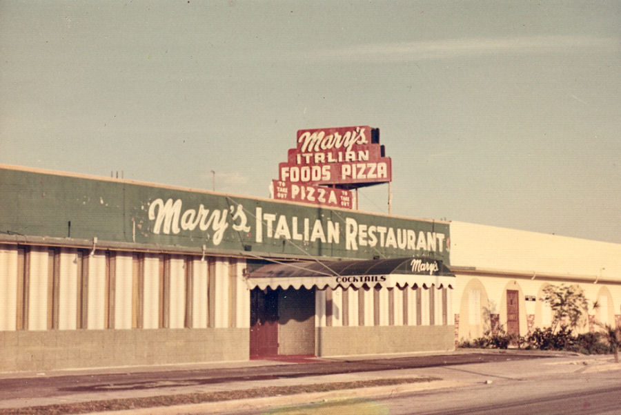 Shot of Early Restaurant from 1960's