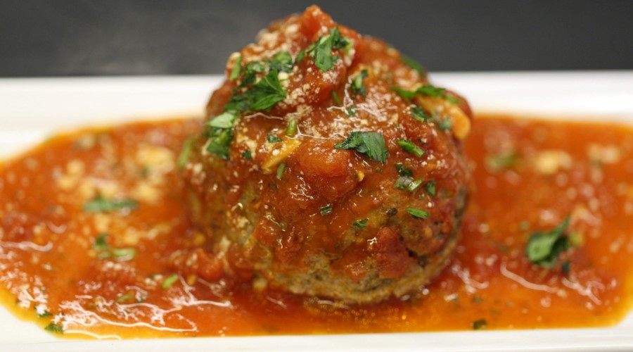 Stuffed Meatball
