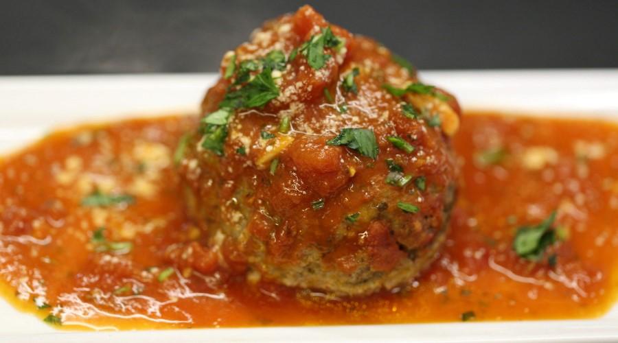 Stuffed Meatball