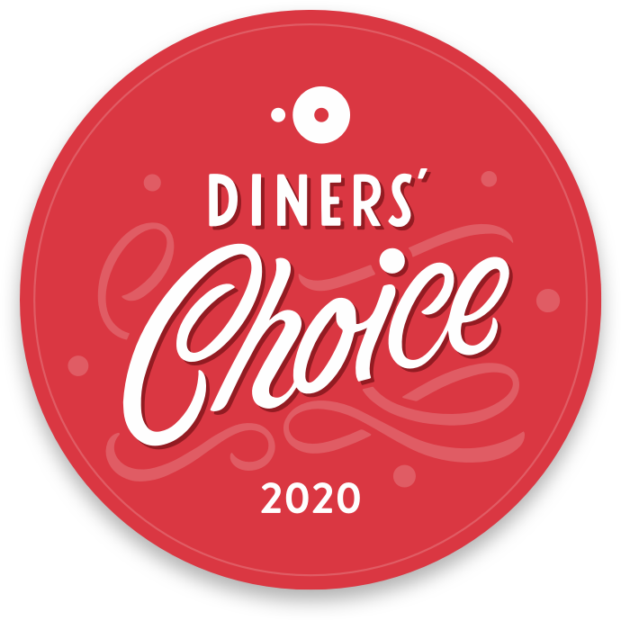 Open Table Winner Diners' Choice 2020