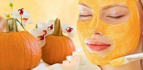 Fall Pumpkin Face Mask